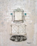 Antique Mirrored Bath I