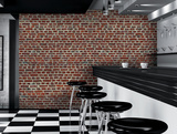 Red Brick Wall Giant Wallpaper Mural