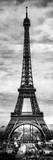 Instants of Paris B&W Series - Eiffel Tower  Paris  France