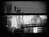Window View with Venetian Blinds: Ed Koch Queensboro Bridge View - Architecture and Buildings