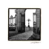 Gates to the Royal Palace  Budapest