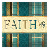 Faith Plaid in Turquoise
