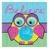 Highlighter Belief Owl
