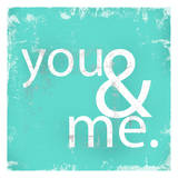 You and Me Teal
