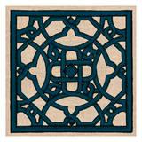 Navy Taupe Reproduction d'art par Tina Carlson