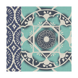 Blue Batik Tile II