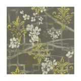 Patterned Blossom Branch I