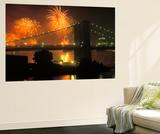 4th of July  Brooklyn Bridge  New York  USA