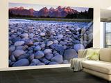 The Snake River  Teton National Park  Teton Range  Wyoming  USA