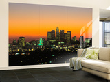 Los Angeles Skyline  California  USA