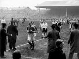 Manchester United vs Arsenal  April 1952