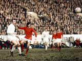 George Best in Action Against Paul Reaney  1970