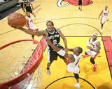 2014 NBA Finals Game Four: Jun 12  Miami Heat vs San Antonio Spurs - Kawhi Leonard  Chris Bosh