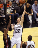 2014 NBA Finals Game Two: Jun 8  Miami Heat vs San Antonio Spurs - Tiago Splitter