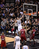 2014 NBA Finals Game One: Jun 5  Miami Heat vs San Antonio Spurs - Manu Ginobili