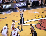 2014 NBA Finals Game Three: Jun 10  Miami Heat vs San Antonio Spurs - Manu Ginobili