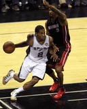 2014 NBA Finals Game Two: Jun 8  Miami Heat vs San Antonio Spurs - Kawhi Leonard