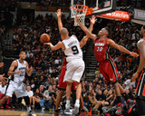 2014 NBA Finals Game One: Jun 5  Miami Heat vs San Antonio Spurs - Tony Parker  Tim Duncan