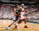 2014 NBA Finals Game Three: Jun 10  Miami Heat vs San Antonio Spurs - Kawhi Leonard  LeBron James