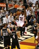 2014 NBA Finals Game Four: Jun 12  Miami Heat vs San Antonio Spurs - Udonis Haslem
