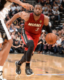2014 NBA Finals Game One: Jun 05  Miami Heat vs San Antonio Spurs - Dwayne Wade