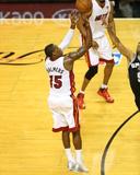 2014 NBA Finals Game Three: Jun 10  Miami Heat vs San Antonio Spurs - Mario Chalmers