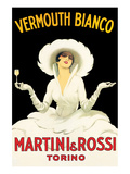 Martini & Rossi Reproduction d'art par Marcello Dudovich