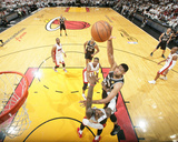 2014 NBA Finals Game Four: Jun 12  Miami Heat vs San Antonio Spurs - Tim Duncan  LeBron James