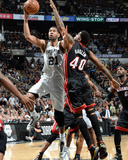2014 NBA Finals Game Five: Jun 15  Miami Heat vs San Antonio Spurs - Tim Duncan  Udonis Haslem
