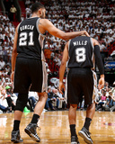2014 NBA Finals Game Four: Jun 12  Miami Heat vs San Antonio Spurs - Tim Duncan