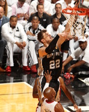 2014 NBA Finals Game Three: Jun 10  Miami Heat vs San Antonio Spurs - Tiago Splitter