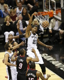2014 NBA Finals Game Two: Jun 8  Miami Heat vs San Antonio Spurs - Tim Duncan