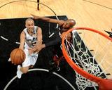 2014 NBA Finals Game Five: Jun 15  Miami Heat vs San Antonio Spurs - Tony Parker  Ray Allen