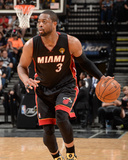 2014 NBA Finals Game Two: Jun 08  Miami Heat vs San Antonio Spurs - Dwayne Wade