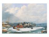 Winter Landscape  c1849