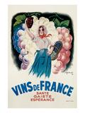 Vins de France: Sante  Gaiete  Esperance