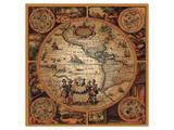 Cartographica II Reproduction d'art