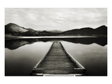 Emigrant Lake Dock I in Black and White