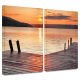 Another Kekua Sunrise 2 piece gallery-wrapped canvas