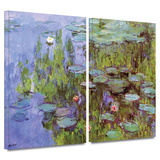 Sea Roses 2 piece gallery-wrapped canvas