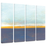 Big Country Sky I 4 piece gallery-wrapped canvas