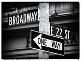 Broadway Street Sign Manhattan