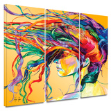 Windswept 3 piece gallery-wrapped canvas