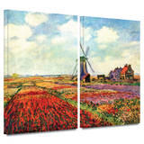 Windmill 2 piece gallery-wrapped canvas
