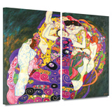 Virgins 2 piece gallery-wrapped canvas