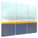 Big Country Sky I 3 piece gallery-wrapped canvas