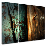 Wood and Nail 3 piece gallery-wrapped canvas