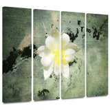 Urban Attitude 4 piece gallery-wrapped canvas