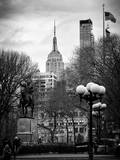 Union Square Park and the Empire State Building View