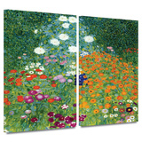 Farm Garden 2 piece gallery-wrapped canvas
